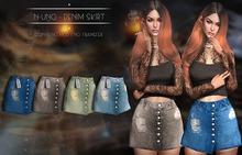 N-Uno - Denim Skirt - NEW FREE Gift Fatpack