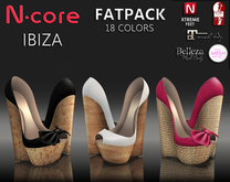 "N-core IBIZA ""FatPack"" for High Feet (Rigged Mesh)"