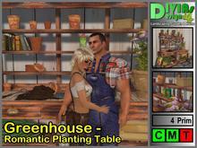 Greenhouse - Romantic Planting Table