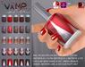 Slink nails vampsilver