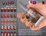 Slink nails vampgold