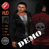 "DEMO edeLsToRe mesh leather jacket "" Rider "" incl HUD 5 min DEMO"