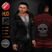 """edeLsToRe mesh leather jacket """" Rider """" incl Shirt + HUD (FATPACK)"""