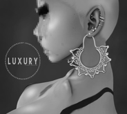 [LX] Persian Earrings Silver