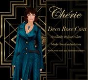 Deco Rose Coat - Juniper