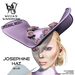 Wicca's Wardrobe - Josephine Hat [Purple] [BOXED]