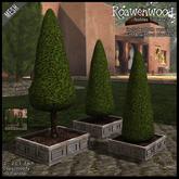 {RW} Nobles Topiary Tree Set
