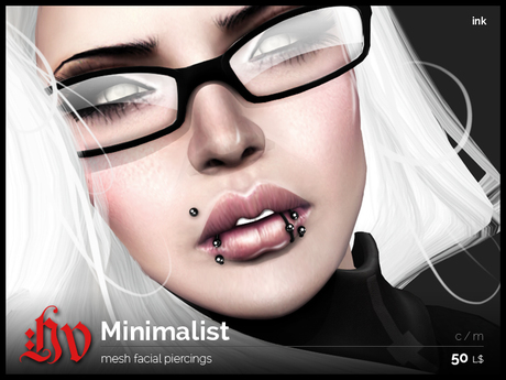 :HV: The Minimalist [Ink] Unisex