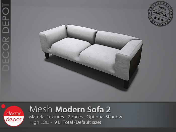[DD] - FULL PERM  Modern Sofa 2