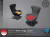 [DD] - FULL PERM  Retro Egg Chair