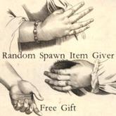 Random Spawn Item Giver