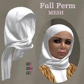 Rigged Mesh hijab - Full Perm