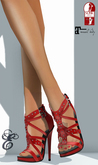 Entice - Possession Heels - Slink High/Maitreya - Red