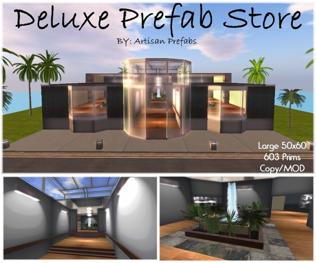 Deluxe Prefab Store or office building by Artisan Prefabs