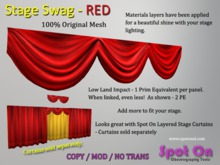 Spot On Stage Swag - RED