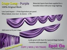 Spot On Stage Swag - Purple