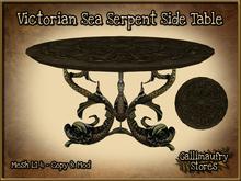 *GALLI* - MESH - Victorian Sea Serpent Side Table