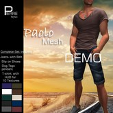 DEMO PAOLO Summer outfit shorts T-shirtPierreStyles