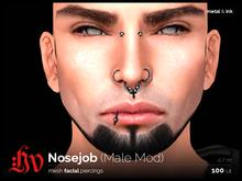 :HV: Nosejob [Ink&Metal] Male Mod