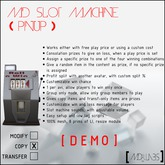 MD Slot Machine (Pinup) DEMO