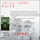 MD Slot Machine (4Leaf) DEMO