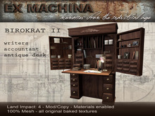 Birokrat 2 - Bookkeeper Desk