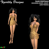 *TD* Jane (from Tarzan) Halloween Costume
