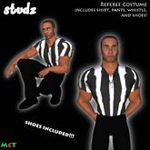*TD* Referee Halloween Costume