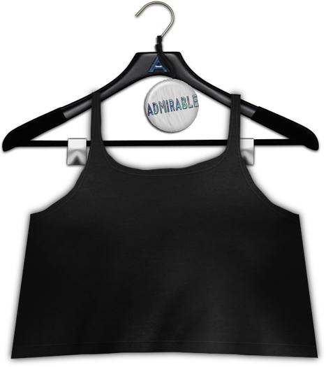 Admirable. Camisole. Neutrals (Black)