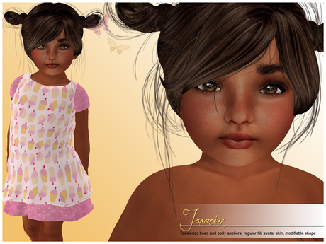 Toddleedoo babygirl skin and shape Jasmin