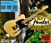 Fender Vintage 1952 Scotch Telecaster