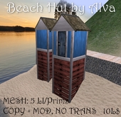 Beach hut by Alva, COPY+MOD, -50%