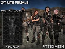 MTS Dark Camo Female