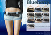 Blueberry vio belted mini skirts2