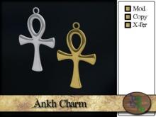 >^OeC^< Findings - Ankh Charm