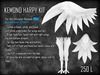 [M.O.R] kemono (and OLD avatar 2.0) harpy kit
