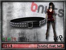 [b.nuts] rivet belt
