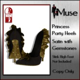[MUSE] Princess Party Heels - Slink High - Amber & Diamond