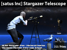 [satus Inc] Stargazer Telescope ~ Only 3 LI / Prims