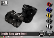 GMan WB - Double Ring Wristband