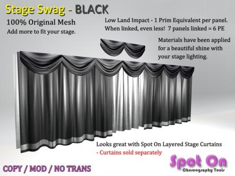 Spot On Stage Swag - BLACK