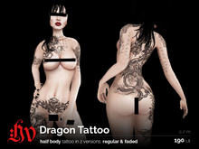 :HV: Dragon Tattoo [regular & faded]