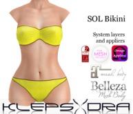 Klepsydra - Sol Bikini - Yellow-Appliers