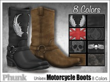 [Phunk] Unisex Motorcycle Boots