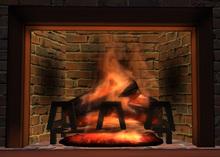 Fireplace dark cherry (MC)