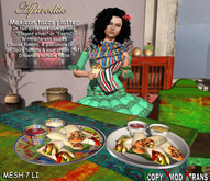 Aphrodite - Mexican tacos platter