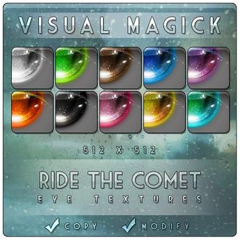 :VM: Ride The Comet Eye Textures