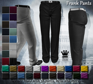[Syn] Frank Pants (Fitted mesh, Texture HUD, Materials enabled)