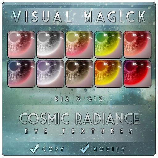 :VM: Cosmic Radiance Eye Textures