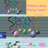 Party Balloons Drop (bag)